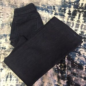 J Brand Lovestory Bell Bottom Jeans